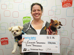 Celeste Shumard - $50,000 Peppermint Payout