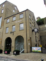 Dean Clough Mills Fire Station