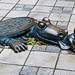"""""""Alligator"""" by Tom Otterness at MetroTech Commons in Downtown Brooklyn in New York City, NY by sanfrancisco2005"""