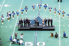 1993 New York Giants @ Dallas Cowboys - Landry Ring Of Honor