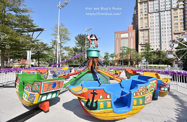 台中市府廣場耶誕夜遊樂園05