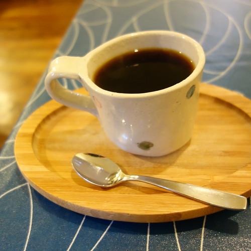 コーヒーはヤマガラコーヒーのブレンドだった。美味しい。