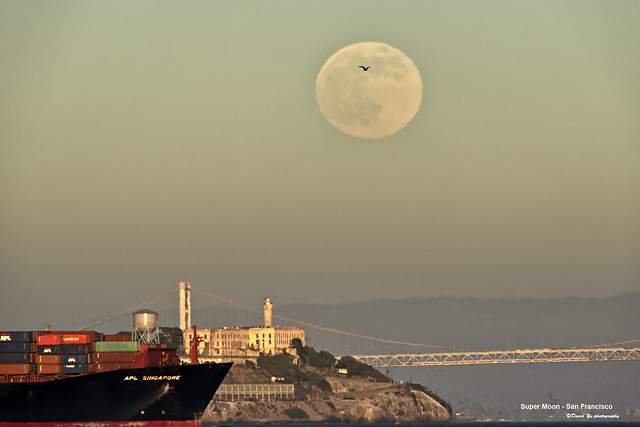 Super Moon - San Francisco