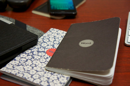 Word Notebooks by bump