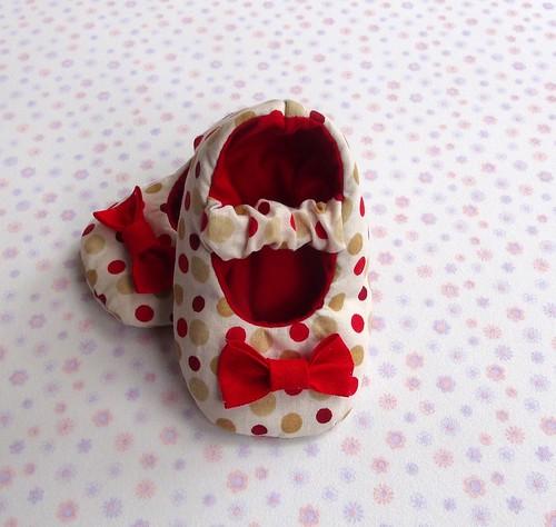 Sapatinho Bebê by Cute for Baby by Mirian Rezende