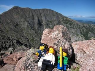 lego group shot, pamola peak