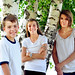 Kids portrait summer trees siblings teens tweens brother sisters by GoodNCrazy