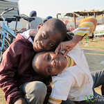 Smiling Kids in Soweto, South Africa