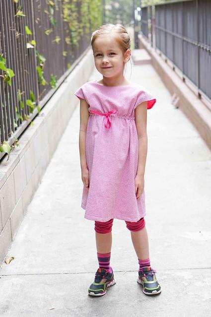 roller skate dress front