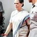 Sonia Gandhi hoists tricolour at AICC headquarters 05