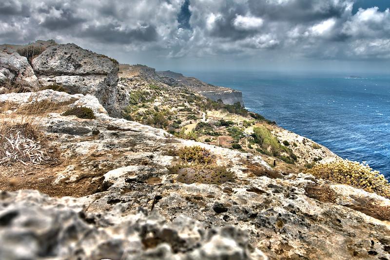Dingli Cliffs HDR - Malta