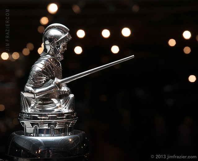 Hood Ornament from a 1929 Stearns-Knight N6-80