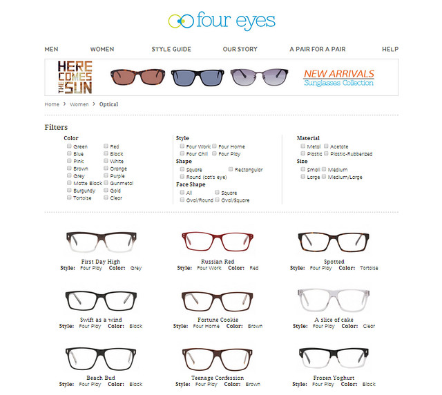 Four Eyes: The First Online Optical Store in the Philippines - The ...