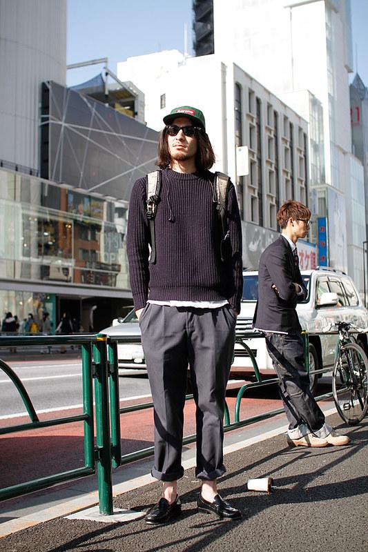 Drop Tokyo Street Style - Area- Harajuku,Tokyo | 原宿,東京 Name- Shinozaki | シノザキ