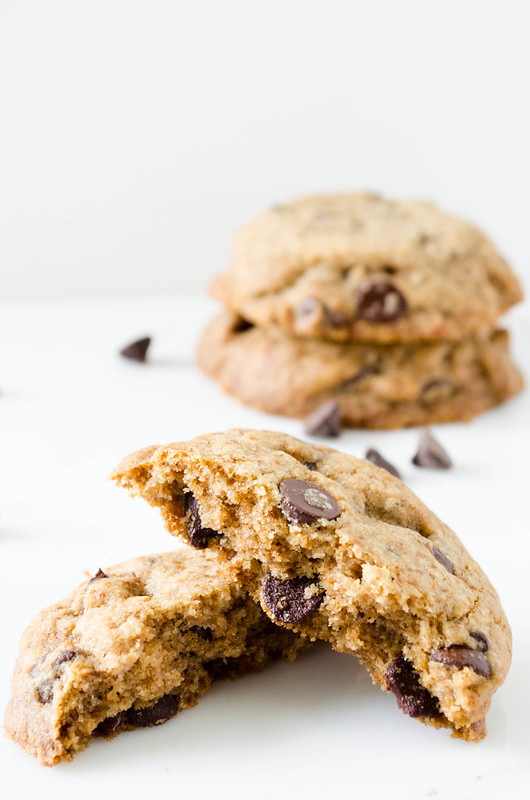 Buckwheat Chocolate Chip Cookies (Gluten Free) | cooking ala mel