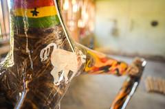 迦納的竹製腳踏車。(來源:jbdodane)