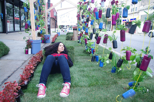 Park(ing) Day, Chicago (by: mig rod, creative commons)