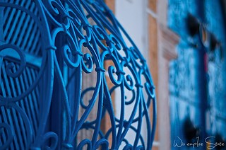Tunisia blue window