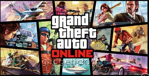 Grand Theft Auto 5 Online запуск