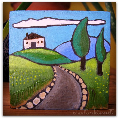 road to home art by Regina Lord