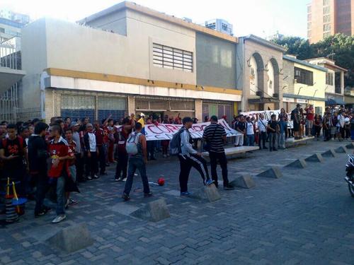 Protestaron contra Esquivel y Farías en Caracas