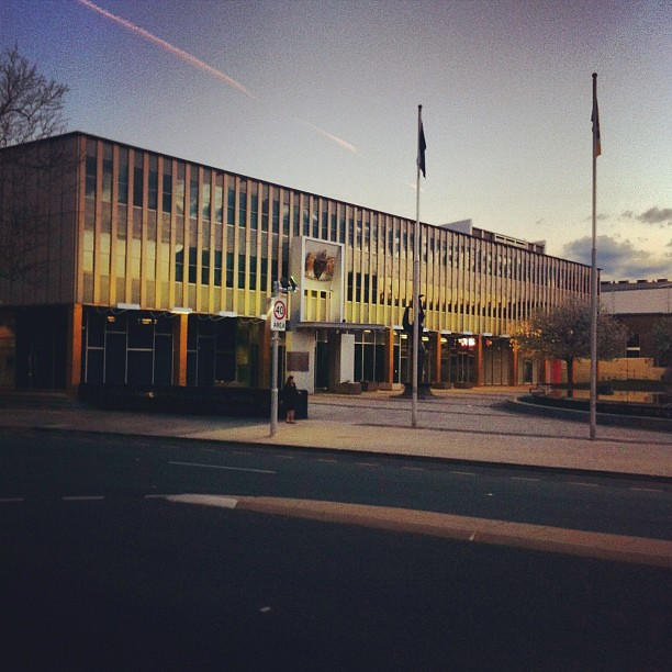Legislative Assembly for the ACT #act #archdaily #architecture #midcentury #modern #modernism #australia #canberra
