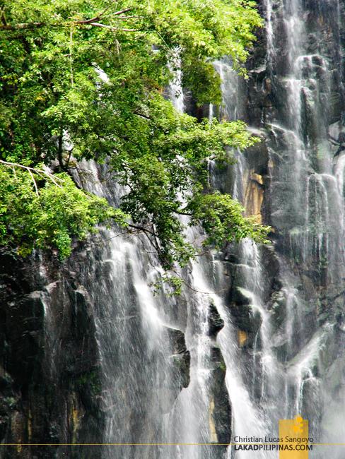 The Walls of Iligan's Maria Cristina Falls