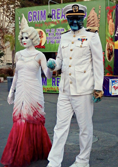The Captain and Graceful Gale at Queen Mary's Dark Harbor