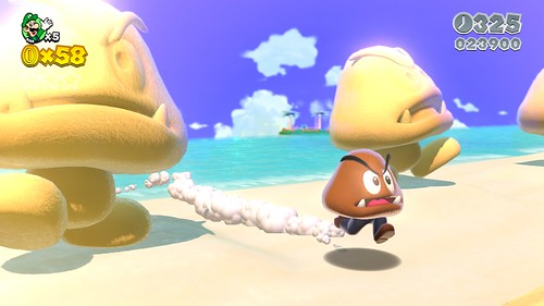 New Super Mario 3D World Screenshots (WII U)