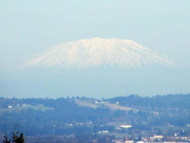 Mount St. Helens from Chehalem Ridge