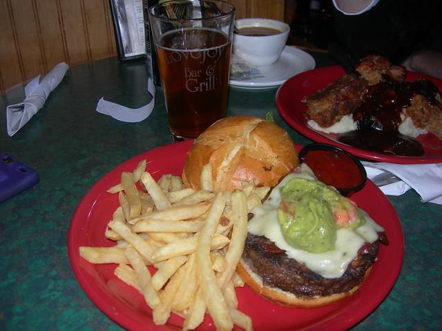 Bison Bar Food Review