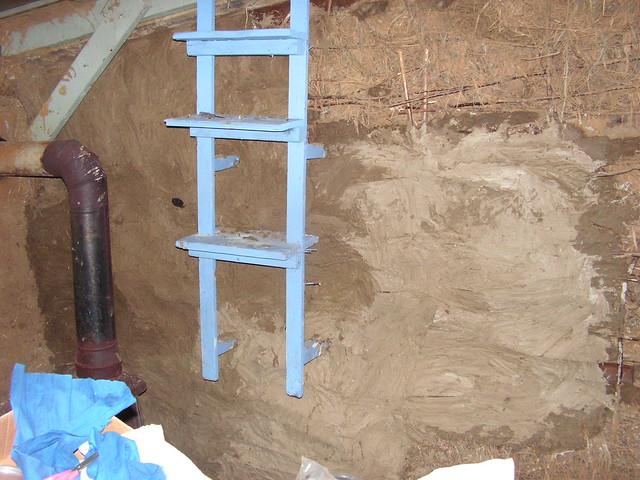 Base Coat Plaster : Base coat interior plaster half lime clay will