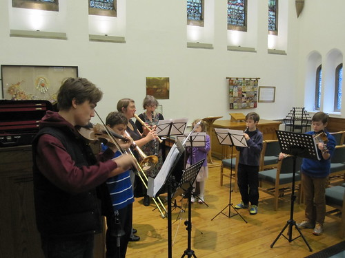 The Young People's music group