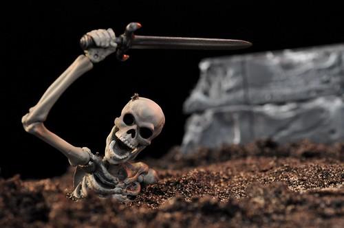 Skeleton Warrior Rising