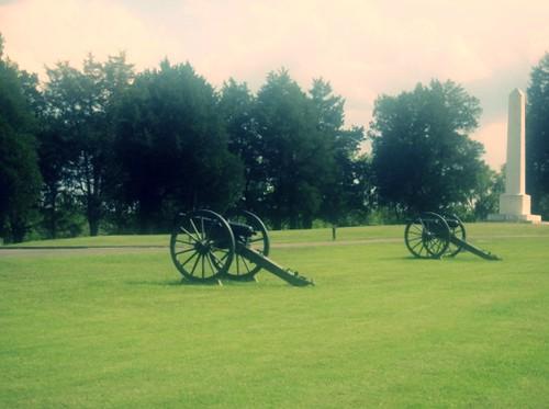 Mendenhall's Battery & Artillery Monument