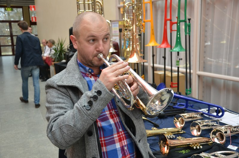 Brassbandfestivalen 2012 - Jan Winborg provspelar