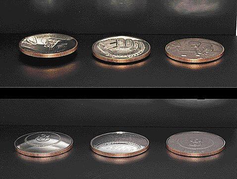 Baseball nonsense coins