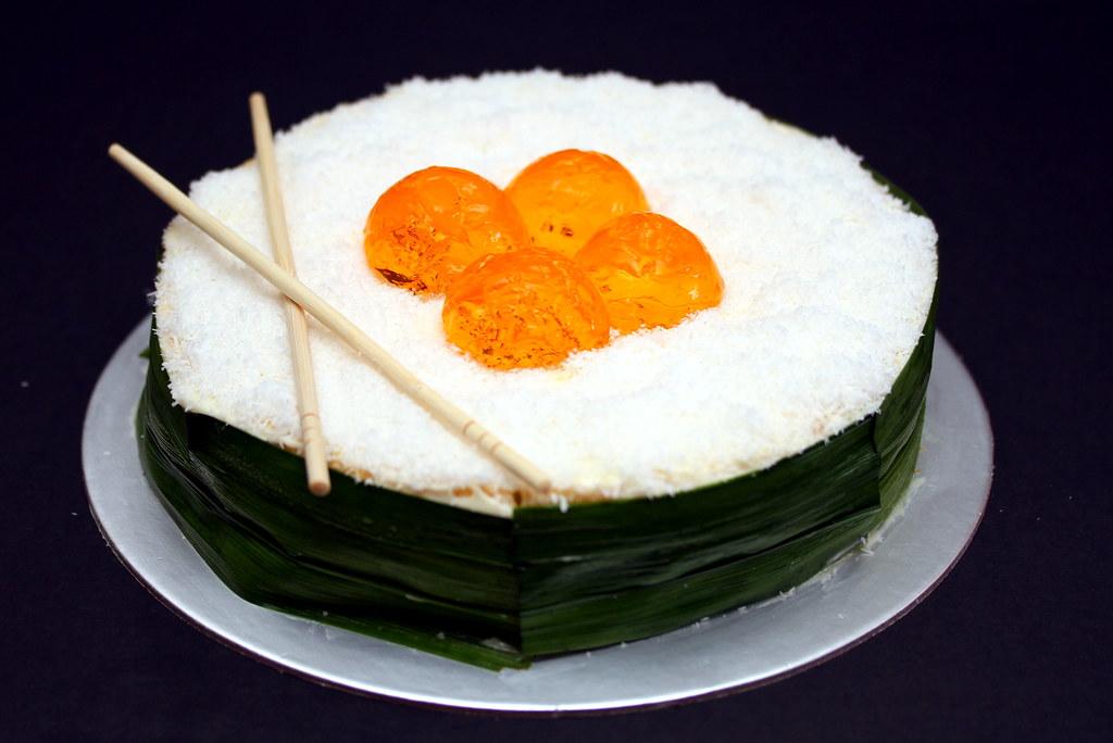 Samsung Smart Oven: Sushi Cake