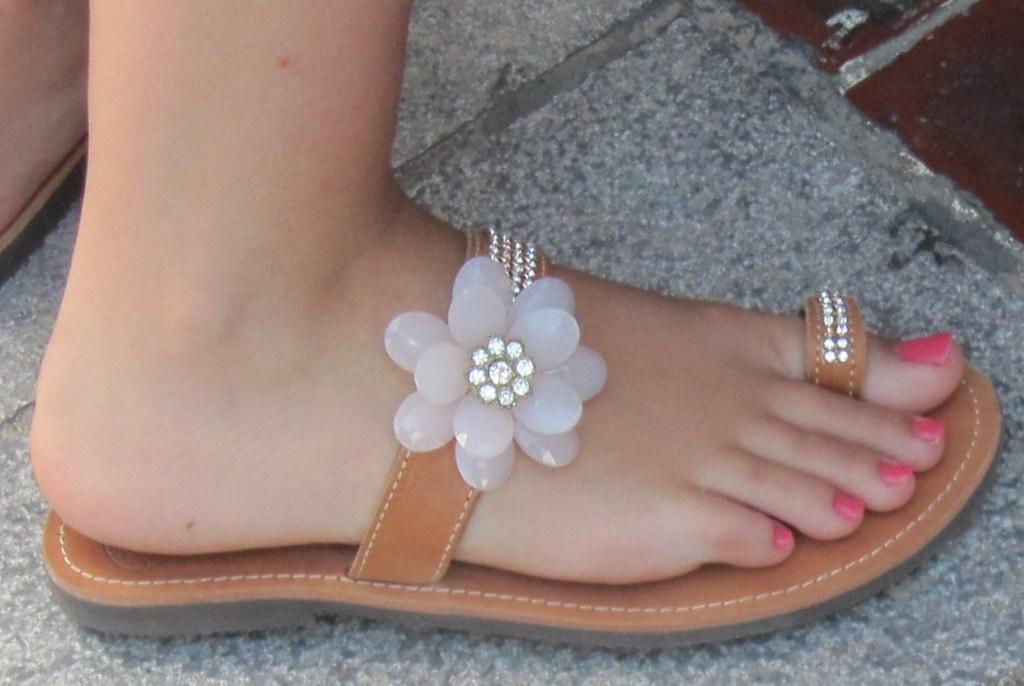 Ladies sexy toes