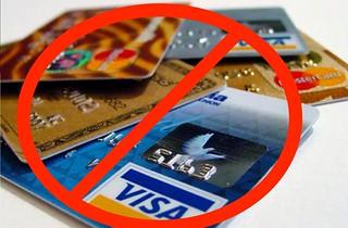 No se aceptan tarjetas de crédito en Irán