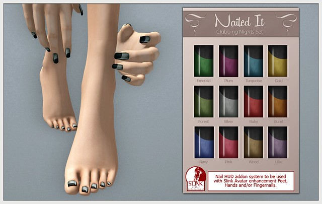 Nailed It - Realistic Inworld Picture - Clubbing Set - Silver