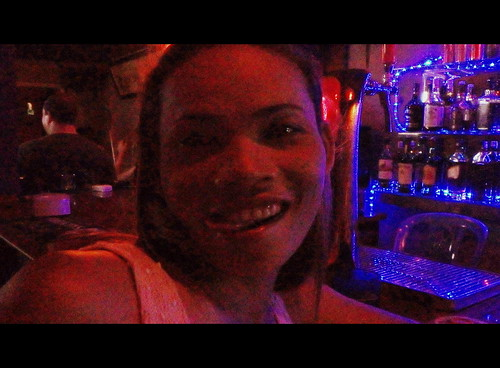 Seductive bargirl, Phnom Penh