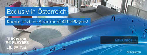 Apartment #4ThePlayers - Vor allen anderen PlayStation 4 spielen!