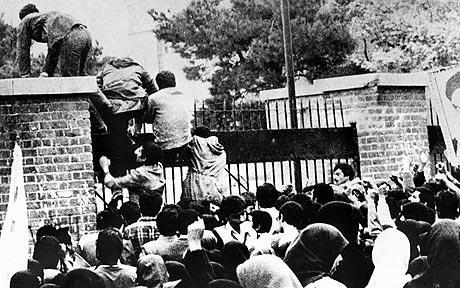 La toma de la Embajada de los Estados Unidos en Irán (noviembre 1979)