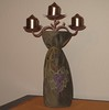 wine bag candelabra