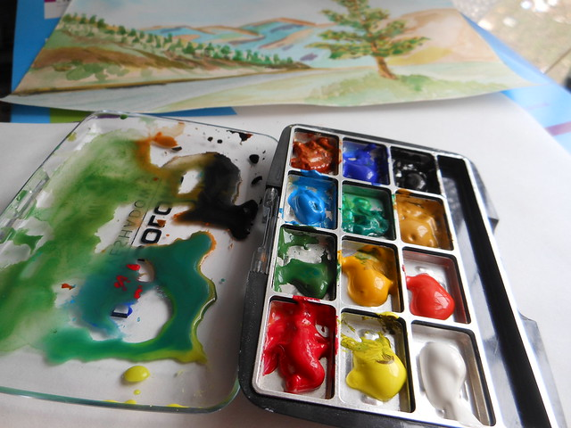 Pocket Watercolor Paints