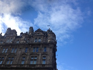 Blue Scottish Sky