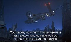 Hunter-Killer Unmanned Drone