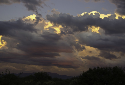 sunset arizona sky usa nature clouds day cloudy scenic nopeople colorimage santaritamountains sonyslta55v