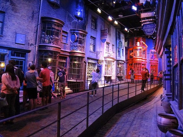 Visite du parc harry potter londres for Visite dans le 78
